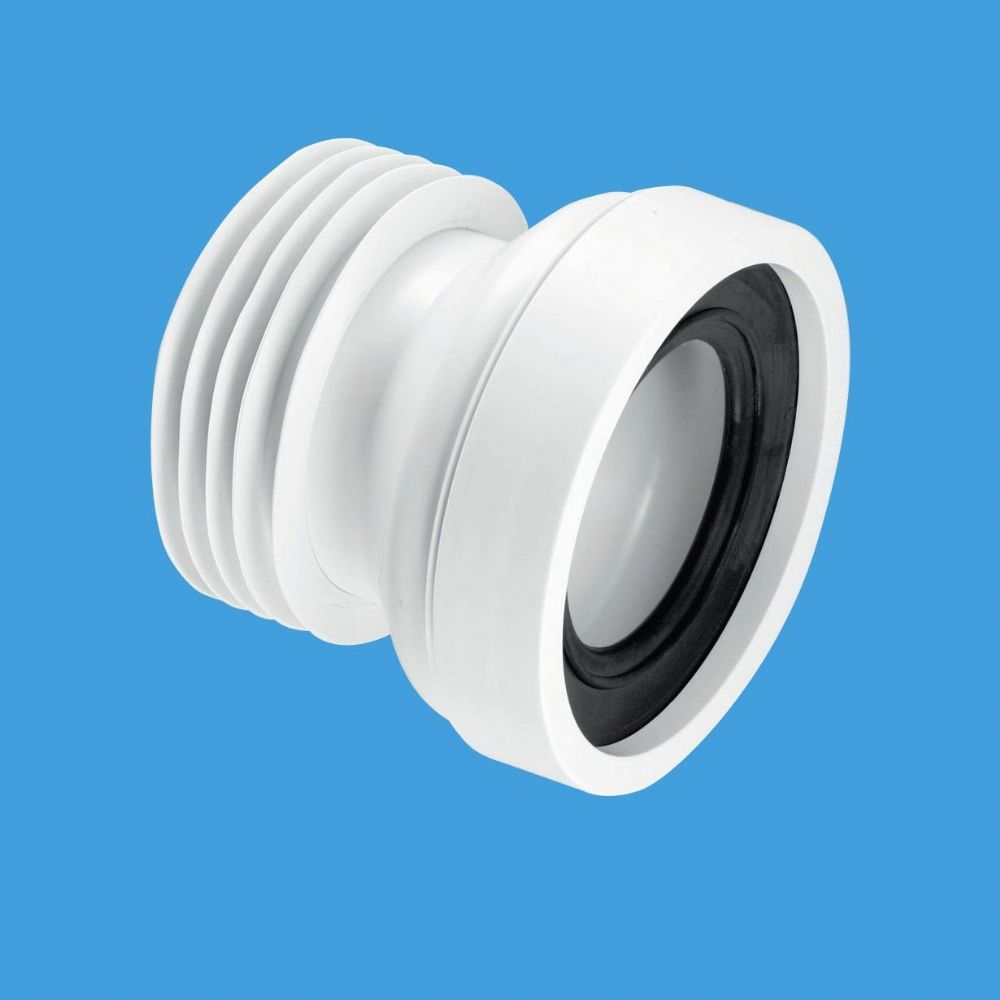 Mcalpine Wc Con1 Straight 4 110mm Rigid Wc Connector